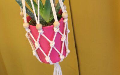 FREE planthanger pattern: simppeli amppeli -ohje